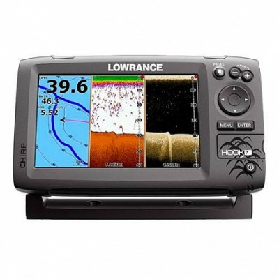 Lowrance Hook-7 Mid/High/DownScan™