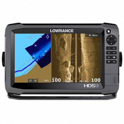 Lowrance HDS-9 Gen3 StructureScan transducer